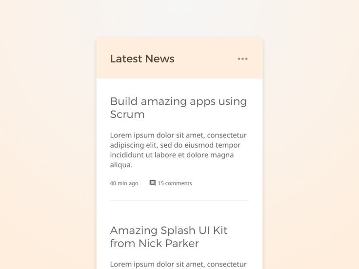 Nick Parker Daily UI #37