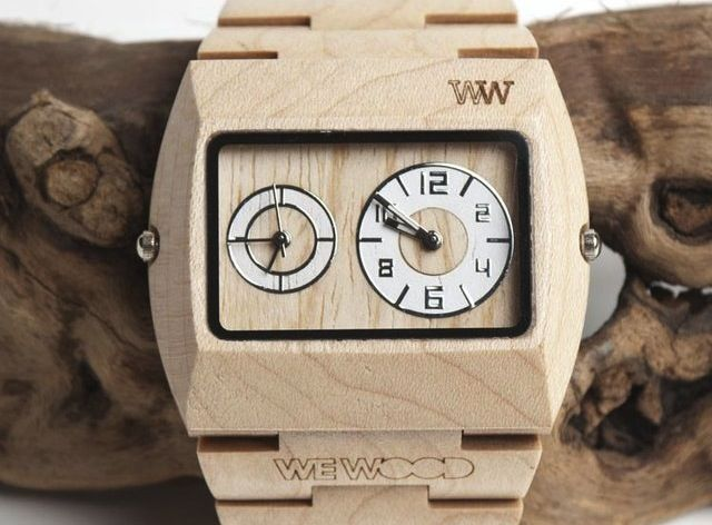 The Jupiter Beige #Watch is made from 100% #Wood, is hypo-allergenic and completely free of toxic chemicals. Made of Maple (Beige). It's the same #wood often used in smoke houses and in culinary arts. It's also used to create many musical instruments like the violin and the #guitar.  - http://thegadgetflow.com/portfolio/jupiter-beige-watch-139/