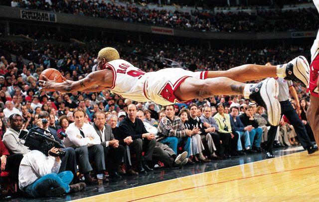 Dennis Rodman Won 3 Nba Championships With The Chicago