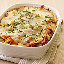 Baked Ziti from Weight Watchers! 7 points per serving & super tasty!