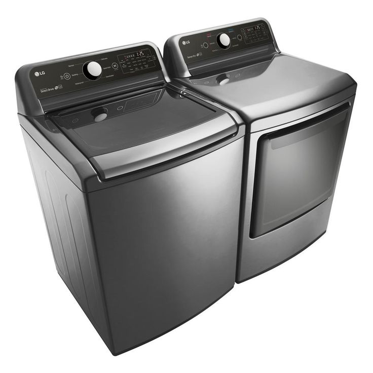 LG Electronics 4.5 cu. ft. Top Load Washer in Graphite Steel, ENERGY STAR