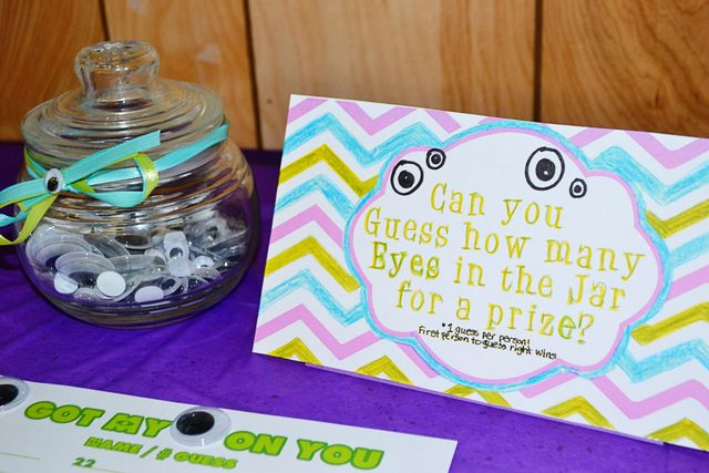 Games at a Monsters Inc Party #monstersinc #partygames
