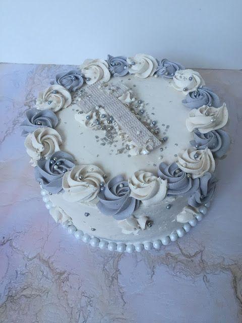 The Perfect Bite Bake Shoppe : Cakes: Baptism Cake