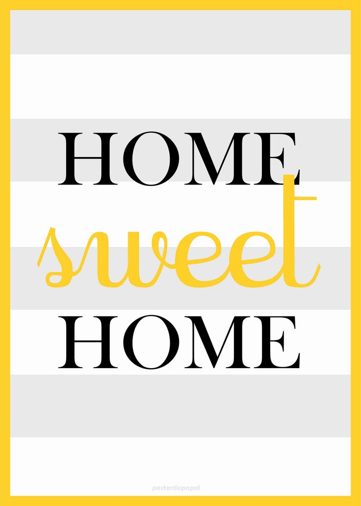 home sweet home poster - Pesquisa Google