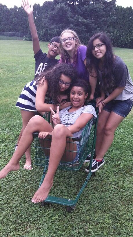 We kinda stole a shoping cart opps
