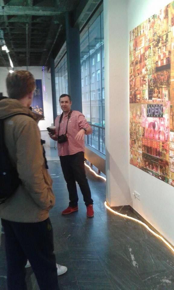 Guided tour of the exhibition with the author...every Thursday in Galerie 1
