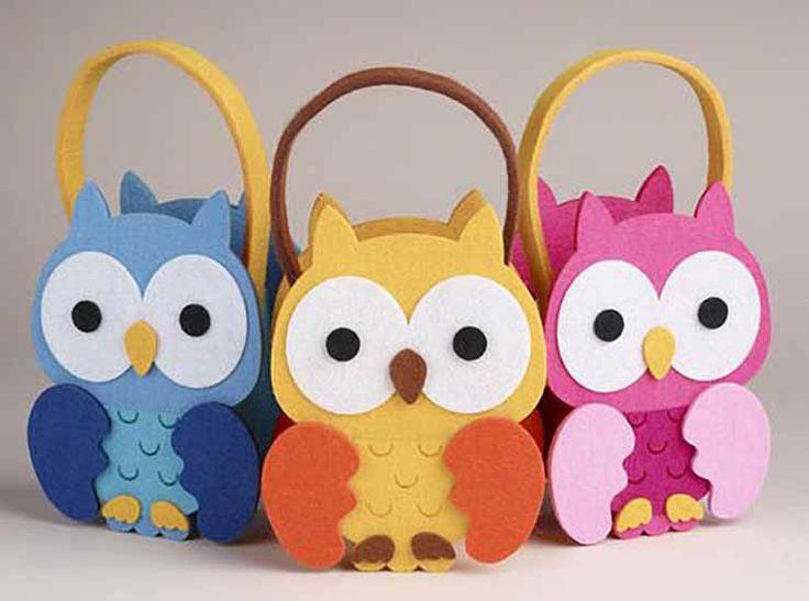 Çocuklarınız için 8 farklı keçeden çanta modeli
