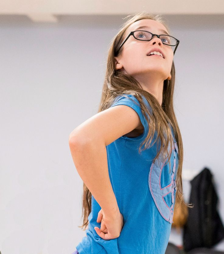 A class act NYC: Oona Laurence from the original broadway cast of Matilda
