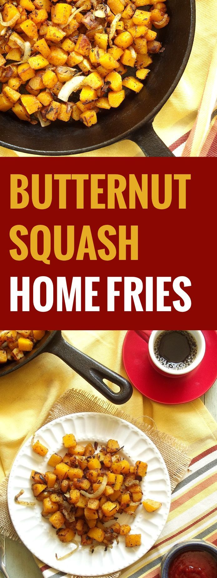 Butternut Squash Home Fries
