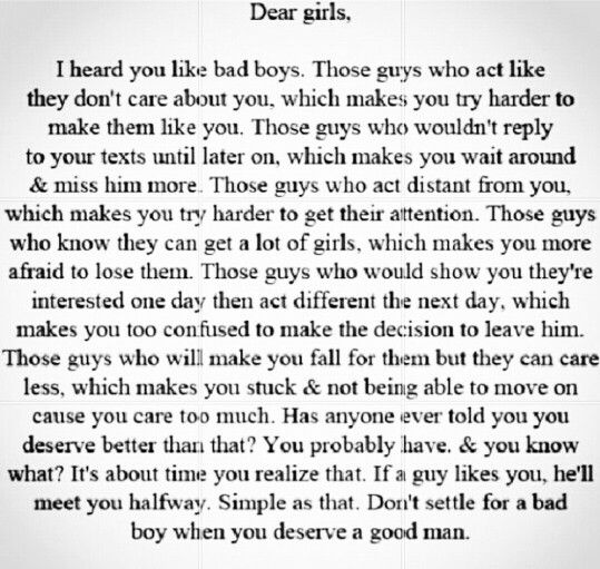 Quotes About Bad Boys And Good Girls Girl quotes | q...