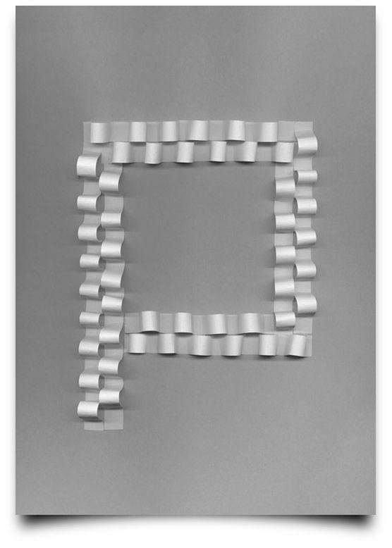 type scan alphabet on Behance