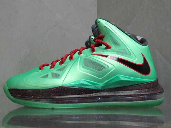 Free Shipping Only 69$ Cutting Jade Nike LeBron X GS