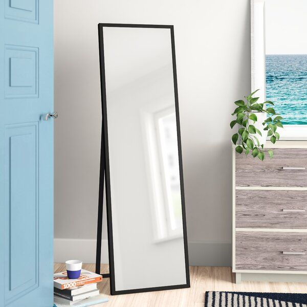 Plainville Free Standing Full Length Mirror In 2020 Freestanding