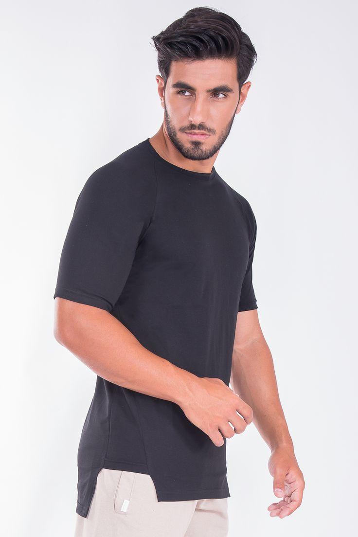 Raglan Asymetric T-Shirt