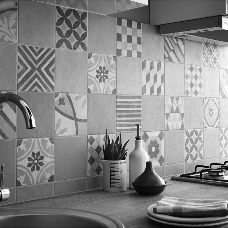 23 best images about carreaux ciment on pinterest - Enlever carrelage mural video ...