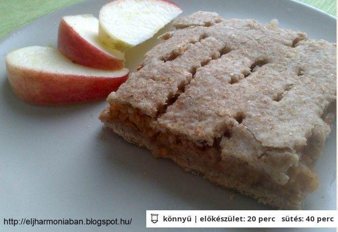 Reform almás pite tönkölybúza liszttel
