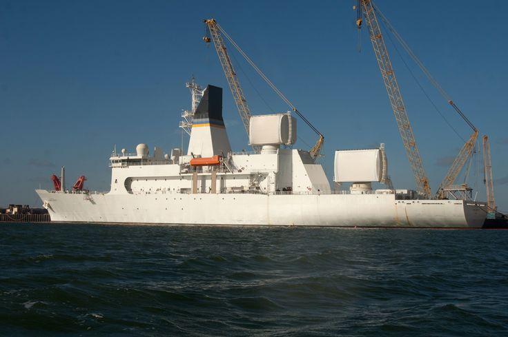 USNS Howard Lorenzen, VT Halter built oceanographic survey ship. U.S. Navy photo