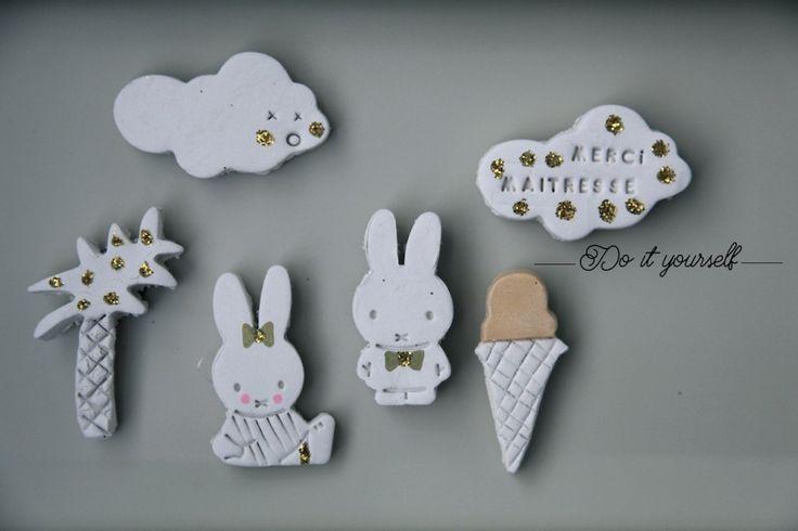 Merci maîtresse ♡ Aimants DIY - Little Ones ☆