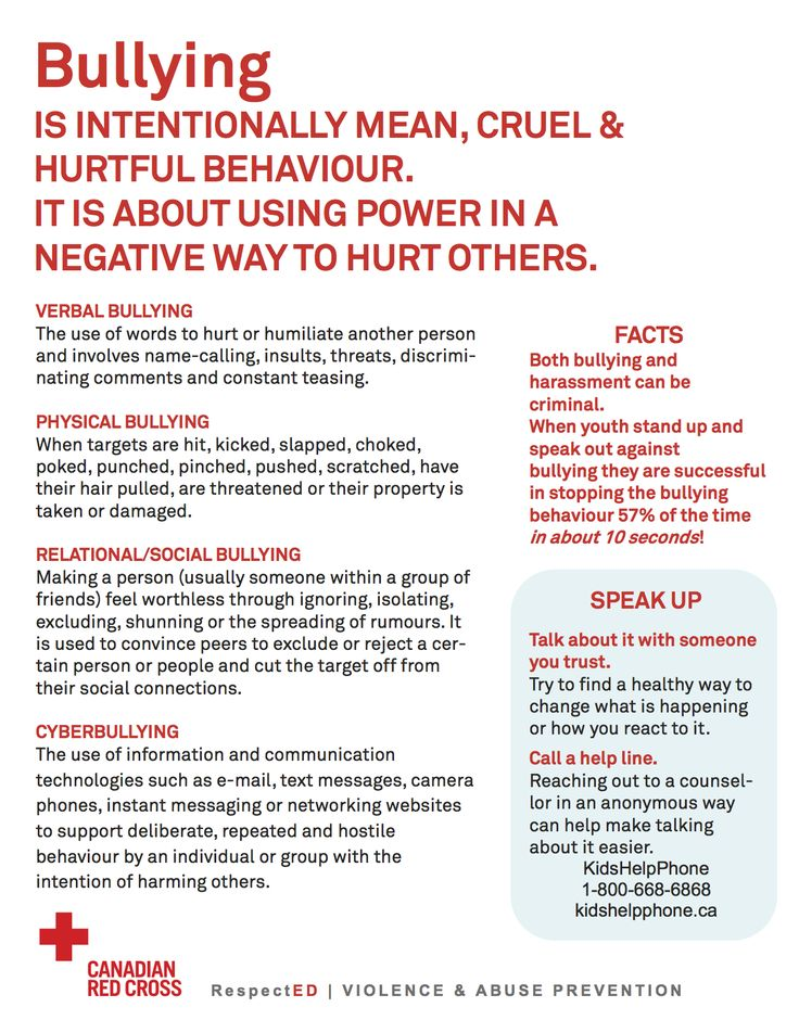 bullying necessity for a code of This is bullying and it does need to stop right away your school's  rule book  parents can be shown a copy of your school's code of conduct, which should.