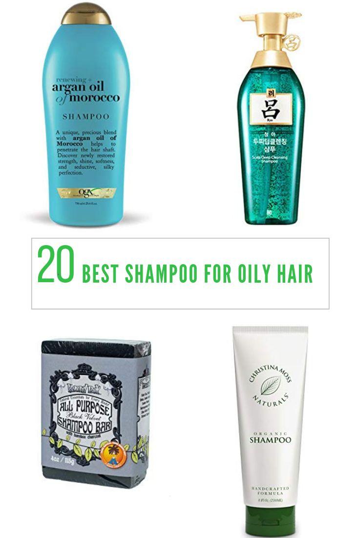 20 Best Shampoo for Oily Hair