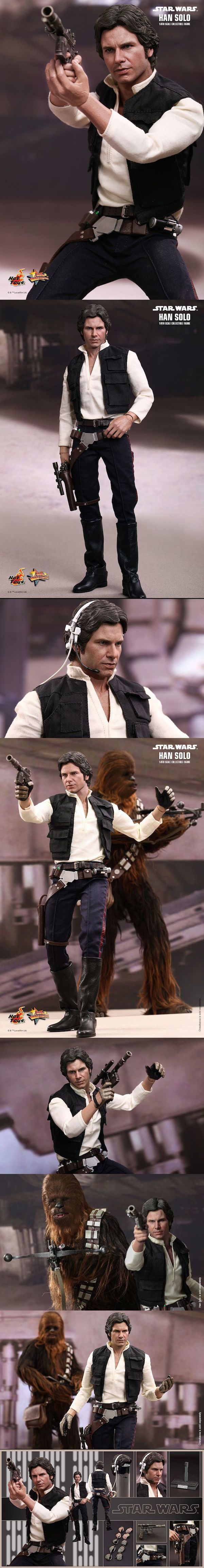 The New Hot Toys Star Wars Han Solo Figure is Simply Incredible!