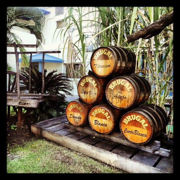 #Brugal rum factory--#Puerto Plata, #Dominican Republic.  Still have some of the rum I bought there in December 2009