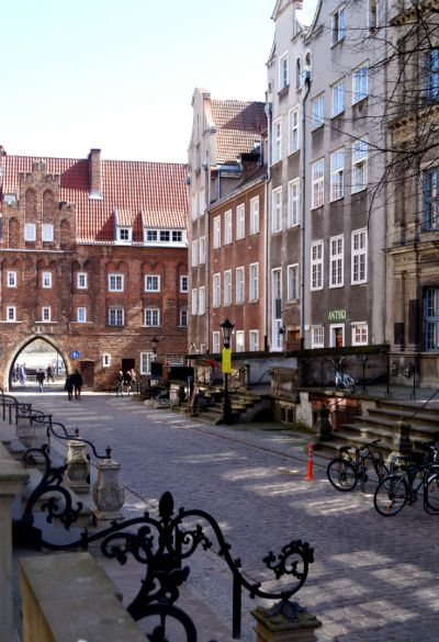 Chlebnicka street, Gdańsk
