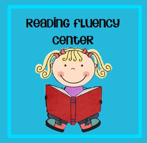 Reading fluency center:  students practice making and reading real and nonsense sentences.