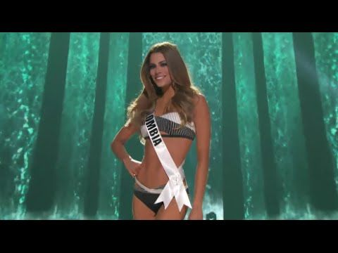 Ariadna Gutierrez Miss Colombia Preliminary Competition Miss Universe 20...