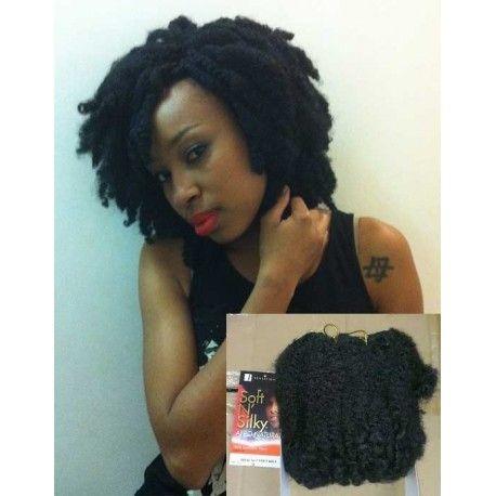 """Sensationnel Soft N Silky - Tissage Afro Twist Puff 6"""""""