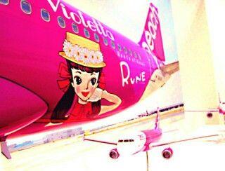 rune girl peach airline