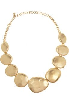 Kenneth Jay Lane Gold-plated necklace   THE OUTNET