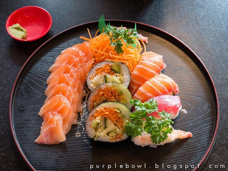 Purple bowl: Samurai restaurant review