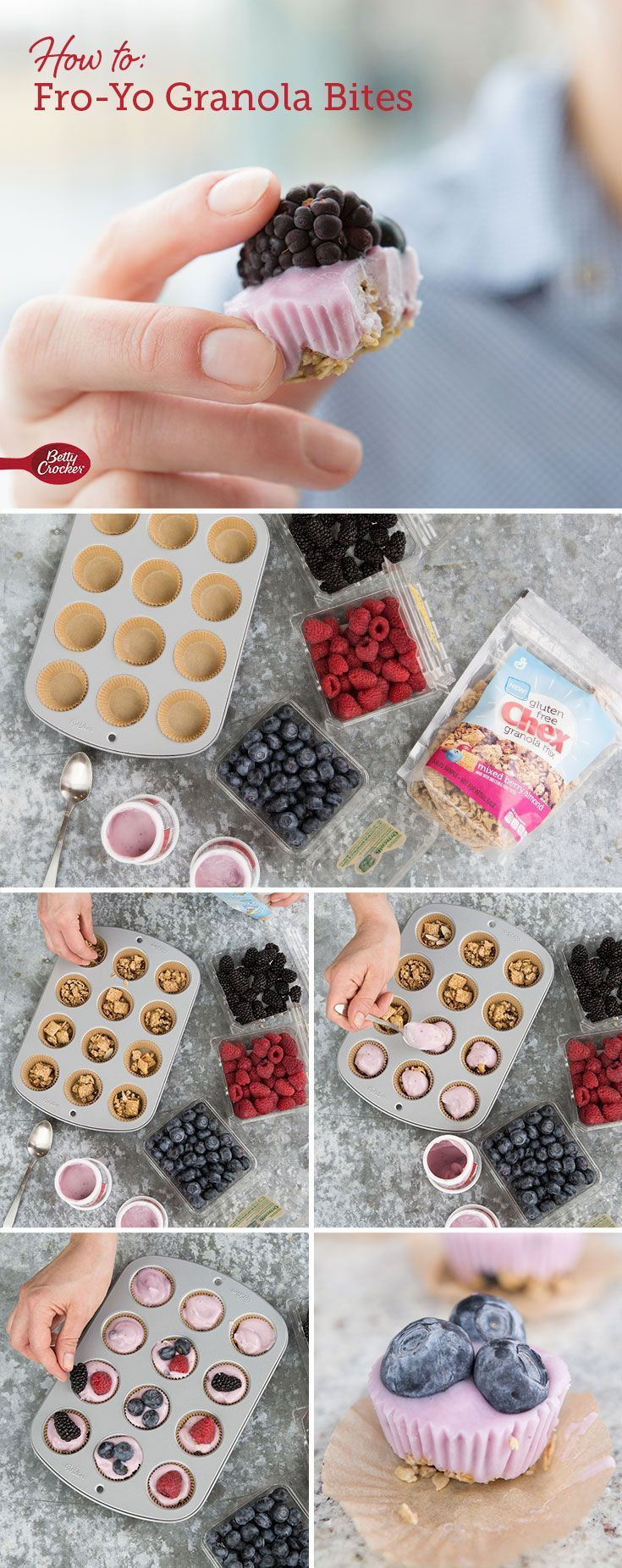 Protein-packed, portable and infinitely pop-able, you can mix and match the ingredients for these gluten-free snacks to fit your family's tastes.