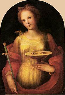 St. Lucy - Saints & Angels - Catholic Online