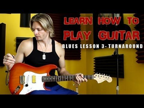 How To Play Blues Part 3a – Online Guitar Lessons – Blues Turnaround – Free Guitar Lessons