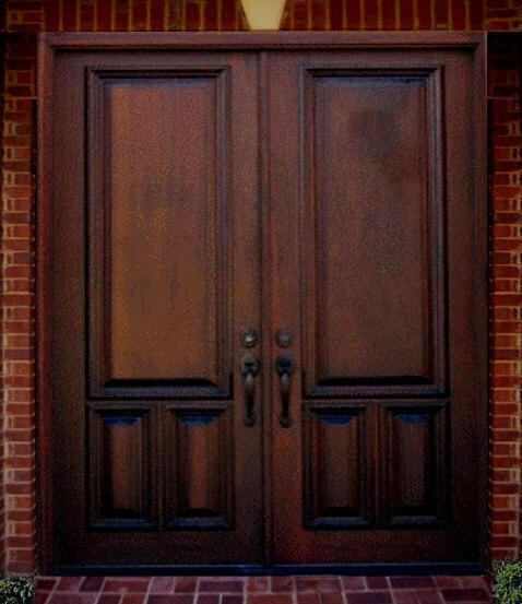 Wooden door design in pakistan new home designs latest for Double doors exterior for homes