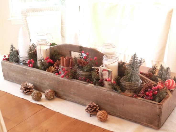 Old Country Christmas Decorations