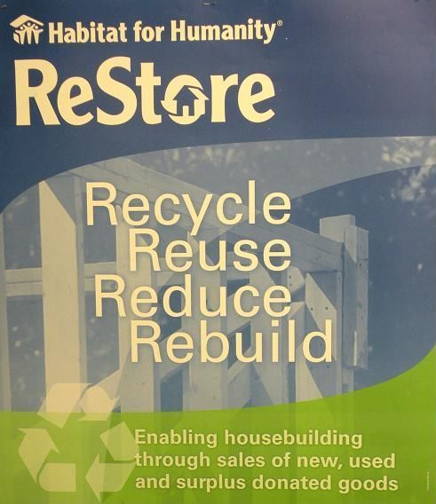 Habitat For Humanity ReStore. Donated Furniture/building Supplies/home  Goods Sold For Very