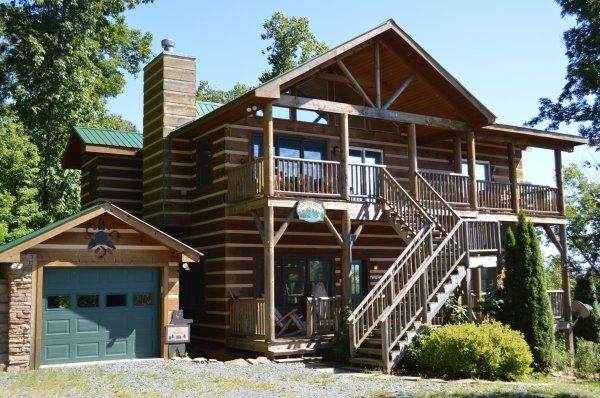 A Moon River View - Cabin rentals in NC, NC cabin rentals, cabins in Boone NC