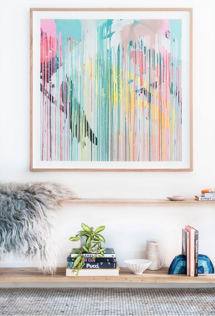 Thinking about buying artwork? Then you've got to read the top tips and advice from leading stylist Julia Green on what to consider when bringing art into your home. Size, scale, placement and more, she covers what you need to know!