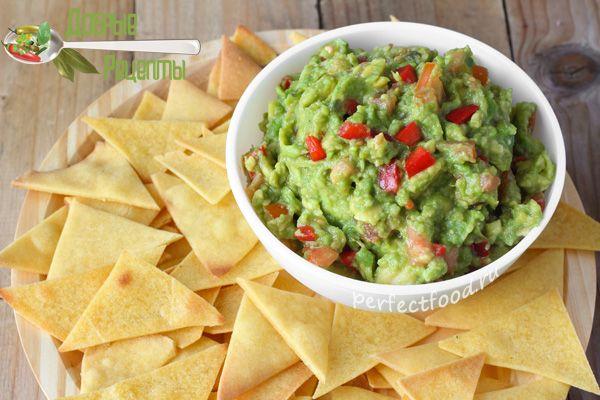 Соус гуакамоле из авокадо - рецепт с фото
