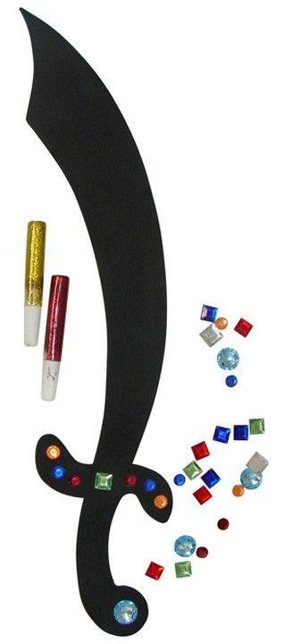Foam Pirate Sword Craft Kit (1 dz)