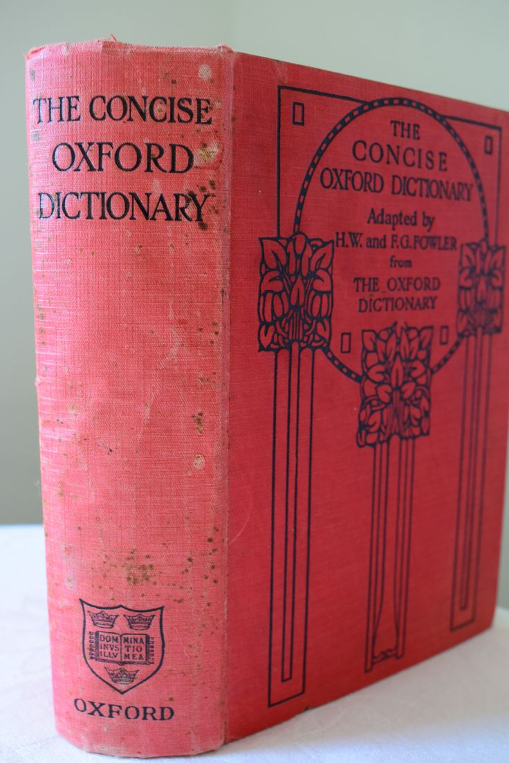 Concise Oxford Dictionary of current English. Fowler, H. W