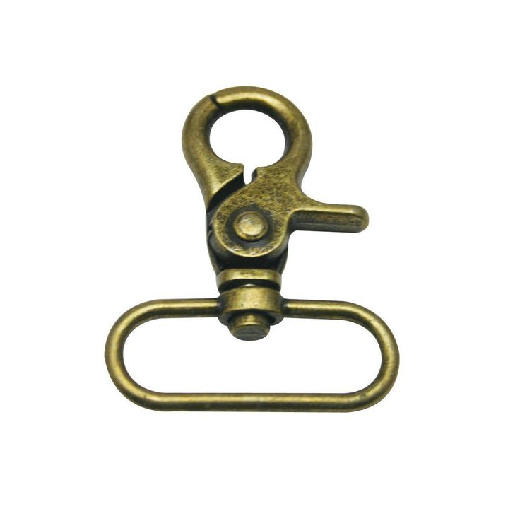 Tianbang Bronze 1.5' Inside Diameter Oval Ring Lobster Clasp Claw Swivel Eye Hole for Strap Pack of 6 *** You can get additional details at the image link.