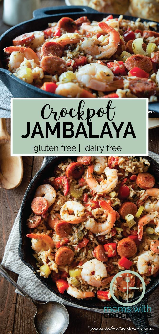 Just like you would get in New Orleans! This tongue tingling Crockpot Jambalaya Recipe is a keeper for a delicious supper any night of the week!