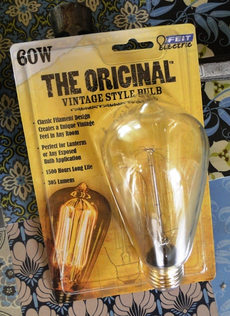 """""""The Original Vintage Style Bulb""""  Who Knew?"""