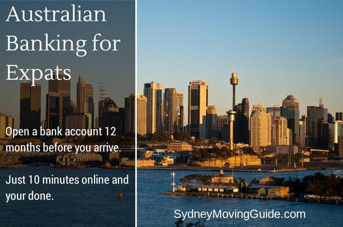 Opening your Australian Bank Account will be the easiest part of your move to Sydney. Just 10 minutes online to open two accounts for two people. So easy, it's a no brainer.