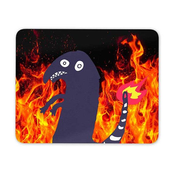Charmander tattoo shitty mouse pad mouse mat 3M040A by Memeskins
