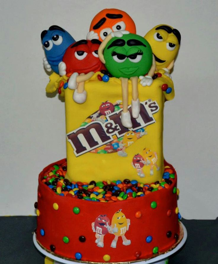25 best images about m&m cakes on Pinterest